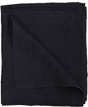 Also Home - Black Garment Washed Linen Tablecloth