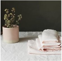Also Home - Linen Napkins Shell Pack Of 4