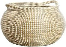 ALSO Home - Stor Seagrass Basket - Brown