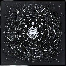 Altar Tarot Card Cloth Tablecloth 12 Constellation
