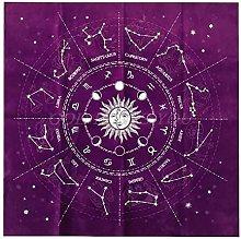 Altar Tarot Cloth Tablecloth 12 Constellation