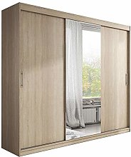 Alter GM Big Modern Wardrobe Sliding Doors Mirror