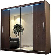 Alter GM Modern Wardrobe Mirror Sliding Doors