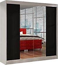 Alter GM Wardrobe Mirrors 2 Sliding Doors Rail