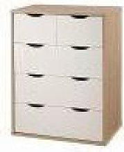 Alton 3+2 Drawer Bedroom Cabinet Bedside Chest Of