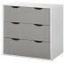 Alton 3 Drawer Bedroom Cabinet Bedside Chest Of