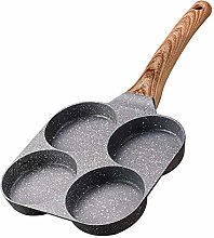 Aluminium Alloy 4 Hole Omelet Pan Non Stick With