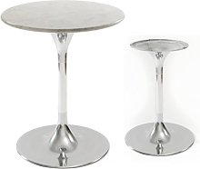 Aluminium bar table Stelo 42
