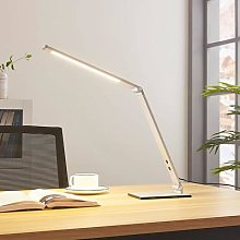 Aluminium LED desk lamp Nicano with dimmer
