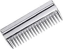 Aluminium Tail Comb (One Size) (Silver) - Lincoln