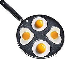 Aluminum 4-Cup Omelette Pancake Pan, Nonstick Egg