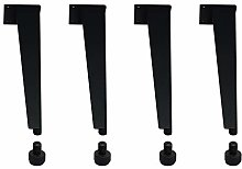Aluminum Alloy Furniture Legs,Adjustable Bathroom
