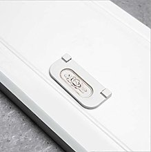 Aluminum Alloy Low-End Wardrobe Hidden Buckle