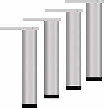Aluminum Cabinet Legs,Adjustable Sofa Legs,Black