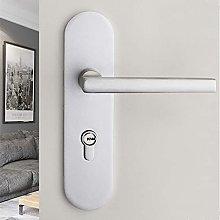 Aluminum Door Handles with Lock and Key,