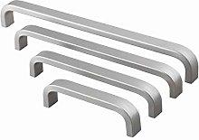 Aluminum Handle Kitchen Door Cabinet Straight