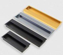 Aluminum Hidden Door Handles Concealed Built-in