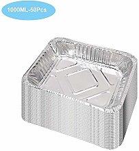 Aluminum Pans Disposable Square Foil Pans