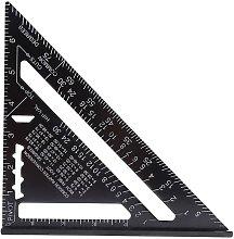 Aluminum Triangle Tool Protractor High Precision