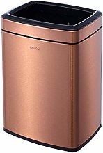 ALUNVA Oval Open Top Trash Can,Rectangle Recycle