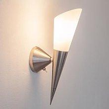 Alva LED wall light, E14