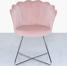 Alvah Tub Chair Canora Grey Upholstery Colour: Pink