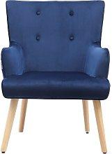 Alvardo Armchair Isabelline Upholstery Colour:
