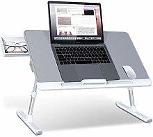 ALVEN Adjustable Laptop Bed Table, Portable