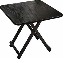 ALVEN Coffee Table Small, Folding Square Side