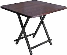ALVEN Folding Square Side Table, Coffee Table