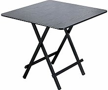 ALVEN Folding Square Side Table, Small Office Work