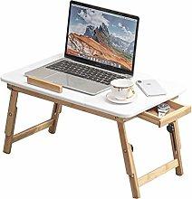 ALVEN Laptop Bed Table, Folding Standing Desk Lap