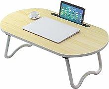 ALVEN Laptop Bed Table, Lap Standing Desk Foldable