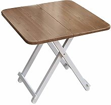 ALVEN Small Folding Square Side Table, Laptop Desk