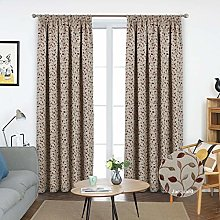 always4u Floral Curtains Pencil Pleat Fully Lined