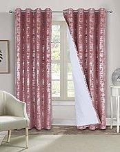 always4u Silver Velvet Curtain Luxury Elegant