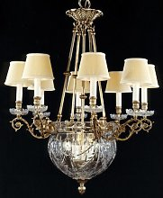 Alyse 12-Light Shaded Chandelier Astoria Grand