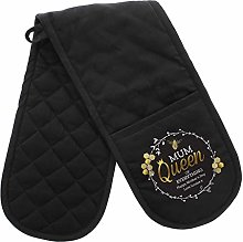 Alyssa's Gifts Personalised Oven Gloves -