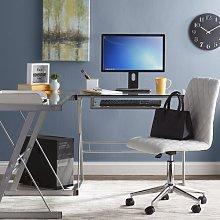 Alyssa L-Shape Computer Desk Zipcode Design
