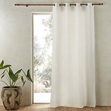 Am.pm Colin Linen Curtain With Cotton Lining