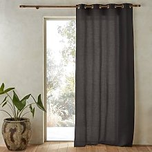 Am.pm Colin Linen Curtain With Eyelets