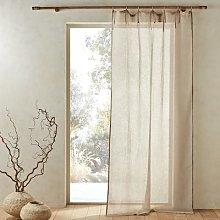 Am.pm Delhia Sheer Linen Voile Curtain