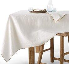Am.pm Helmati Washed Hemp Tablecloth