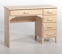 Am.pm Instit Simple Solid Pine Desk