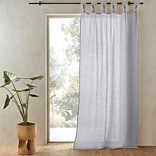 Am.pm Jaliska Single Linen Curtain With Tab Top