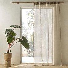 Am.pm Kormi Linen / Velvet Curtain Panel