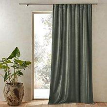 Am.pm Nyodhi Single Stonewashed Velvet Curtain