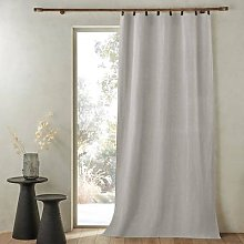 Am.pm Private Single Washed Linen Curtain With