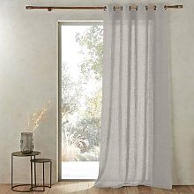 Am.pm Romane Linen Single Curtain With Eyelet