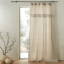 Am.pm Scala Linen Curtain Panel